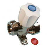 Washing Machine Inline Inlet Tap Valve with Knob - 07001900